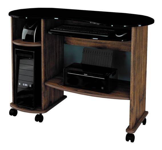 Mesa Para Computador Desktop Escrivaninha Com Base Para Teclado Home Office Dalla Costa C18