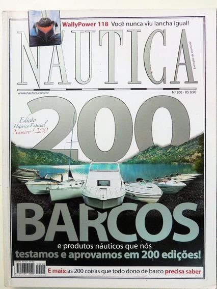 Revista: Náutica N.º 200 Edição Histórica Especial + 02 Ed