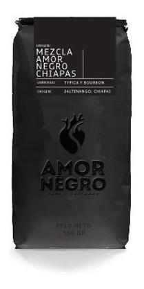 1kg De Café Orgánico Mezcla Amor Negro | Jaltenango, Chiapas