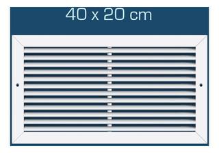 Rejilla De Aluminio Blanco 40x20 - Interpolar -