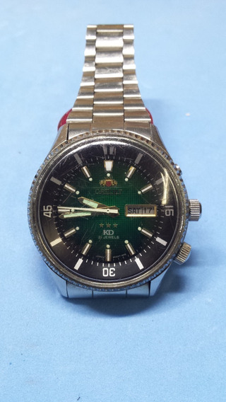 Relógio Orient Antigo Automático King Diver Anos 70 100%