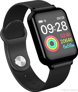 Relógio Smart Watch Fit Presão Arterial B57 Heroband Monitor
