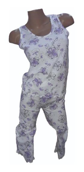 1488. Pijama Capri Musculosa. Talle Especial