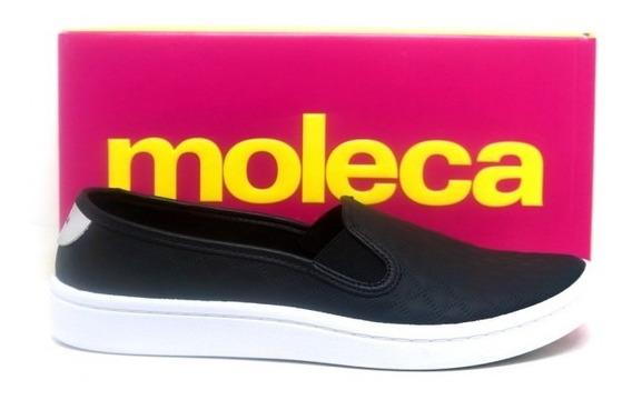 Tênis Moleca Slip On Casual