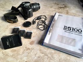 Vendo Camera Nikon 5100 Com Lenet Do Kit Em Perfeirto Estado
