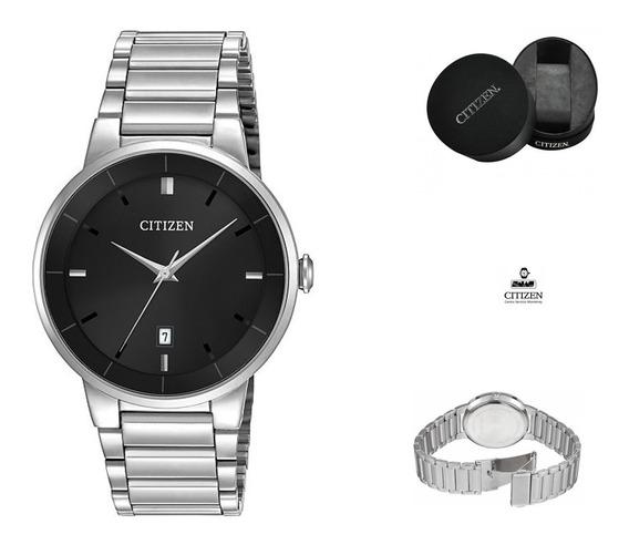 Reloj Citizen 60744 Bi5010-59e Hombre Acero Negro Watchsalas