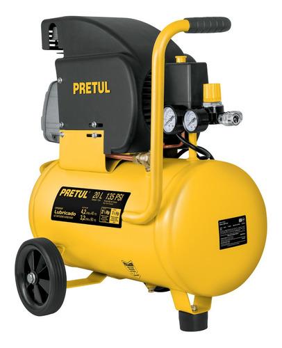 Compresor, 20 L, 3-1/2 Hp (potencia Máxima), 120 V, Pretul
