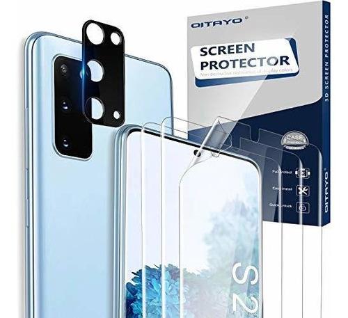 Protector De Pantalla Qitayo Para Samsung Galaxy S20