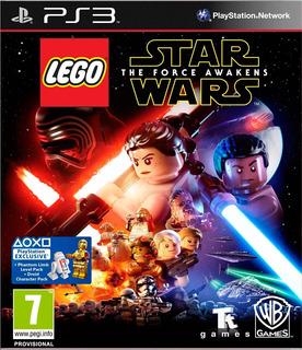 Lego Star Wars The Force Awakens Digital Ps3