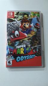 Jogo Nintendo Switch Super Mario Odyssey-usado