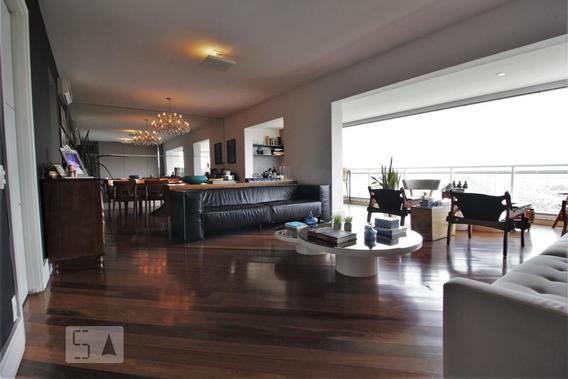 Apartamento No 23º Andar Mobiliado Com 3 Dormitórios E 3 Garagens - Id: 892985448 - 285448