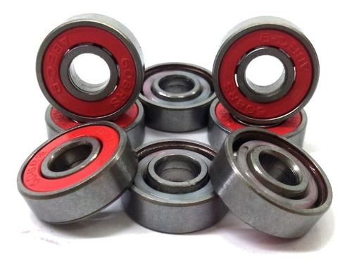 Imagem 1 de 1 de Rolamentos Precision Reds Abec 9 Skate