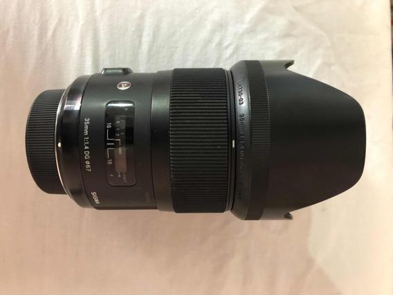 Lente Sigma 35mm Série Art