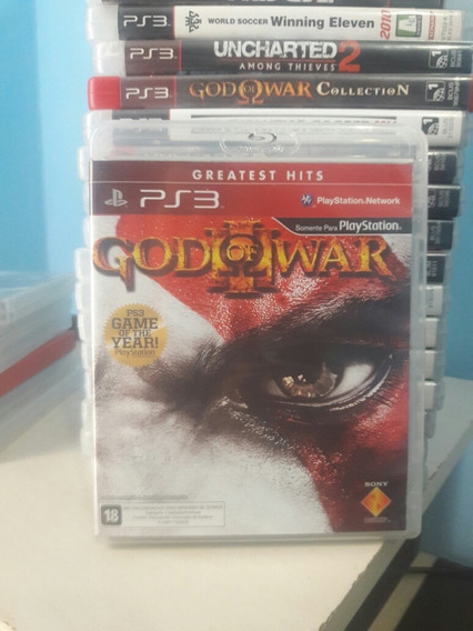 god of war 3 game of the year edition