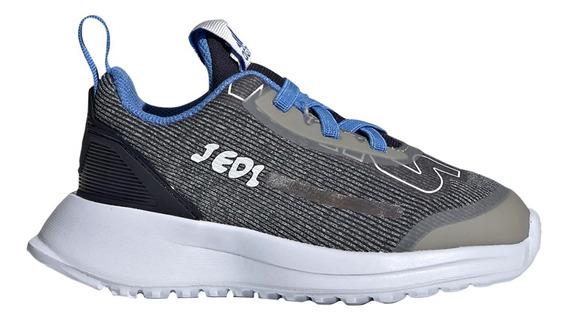 Zapatillas adidas Rapidarun Starwars El I Bebe Gr/grm