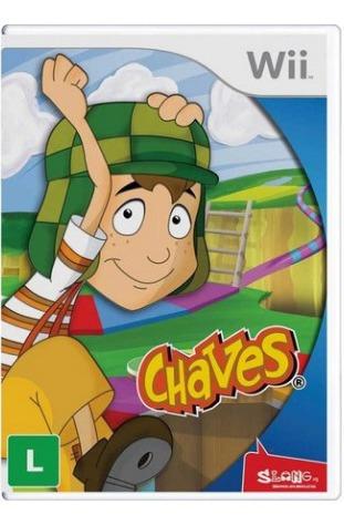 Jogo Chaves - Wii Midia Fisica Lacrado
