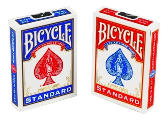 Cartas De Magia Y Poker Marca Bicycle 2 Uni