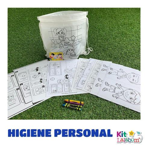 Kit De Actividades Lalabum - Higiene Personal