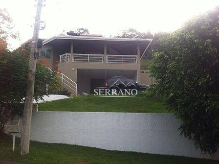 Casa Com 4 Dormitórios À Venda, 372 M² Por R$ 1.600.000,00 - Condomínio Chácaras Do Lago - Vinhedo/sp - Ca0371
