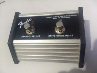 Footswitch Channel/drive Fender Frontman 212r Como Nuevo