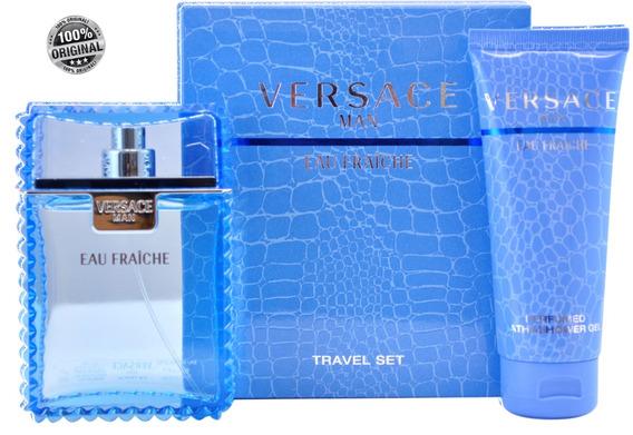 Versace Eau Fraiche Hombre 100ml Eau De Toilette Estuche