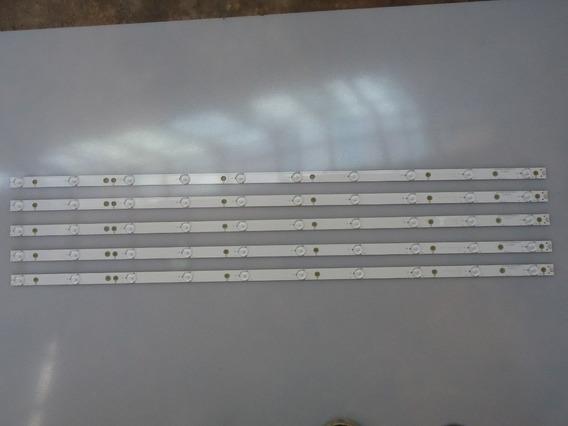 Kit 5barra Led Aoc Le43d1452 Lb-pf3528-gjd2p5c435x10-h