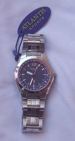 Relógio Atlantis Masculino Analógico - Seminovo - Códico 345