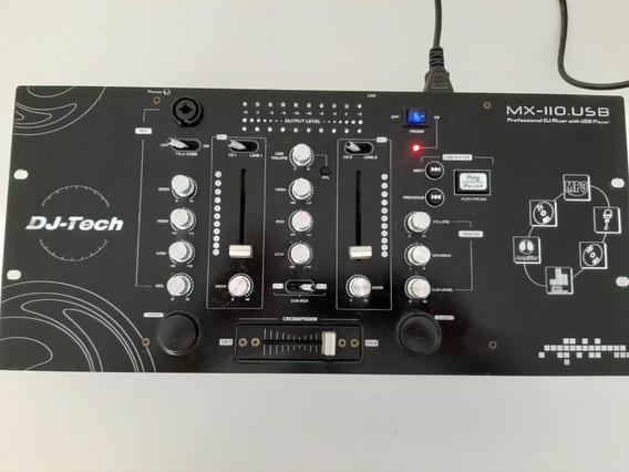 Mixer Para Dj Dj-tech Mx-110.usb