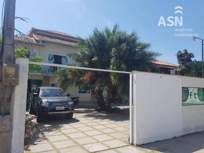 Casa Comercial Com 800 M² De Área Construída, 7 Salas E 2 Salões, Piscina, 8 Vagas De Carro, Costazul - Rio Das Ostras - Ca0187