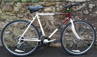 Bicicleta Raleigh Pioneer Classic Hibrida R28 700c 21v 54cm