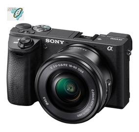 Sony A6500 Mirrorless 24.2mp, Lente 16-50mm F/3.5-5.6 Oss