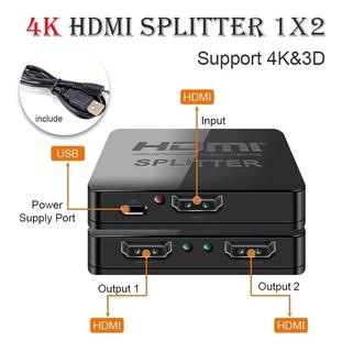 Splitter Hdmi 4k Full Hd 1080p - Full 3d