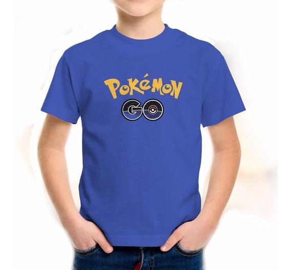 Playera Pokemon Go Pokémon Apk Nintendo Niño Niña