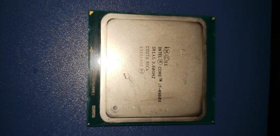 Processador I7 4960x 3.6 / 4.0 Ghz 15 Mb Cache Lga 2011