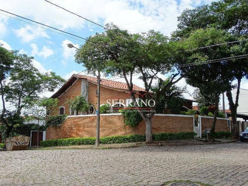 Casa Com 3 Dormitórios À Venda, 327 M² Por R$ 1.350.000,00 - Jardim Bela Vista - Valinhos/sp - Ca0638