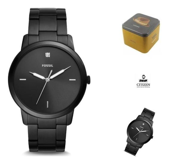 Reloj Fossil Fs5455 Quartz Hombre Correa *watchsalas* Full