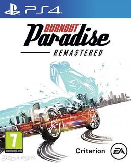 Burnout Paradise Remastered Ps4 - Juego Fisico - Cjgg