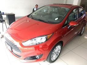 Ford Fiesta Rojo Metalico Mt Titanium Hb 2018