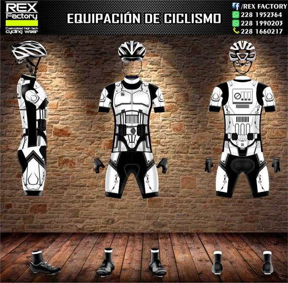 Uniforme De Ciclismo Clone Star Wars Jersey Licra