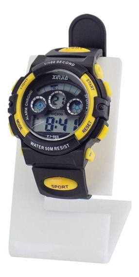 Relógio Masculino Infantil Esportivo Digital Prova D