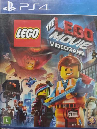 The Lego Movie Ps4 Mídia Física , Novo , Lacrado