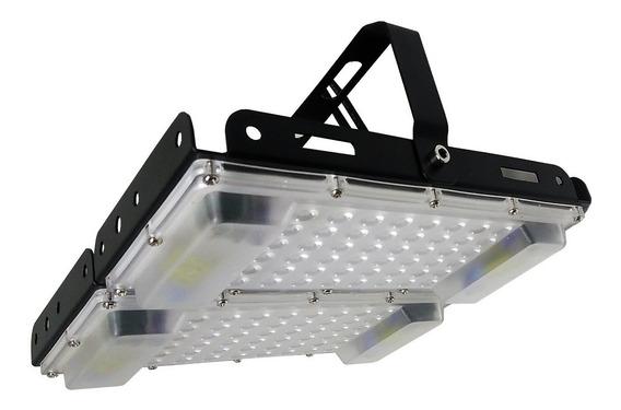 8 Luminária Led Ufo Plana Highbay Galpão Industria 100w Refl