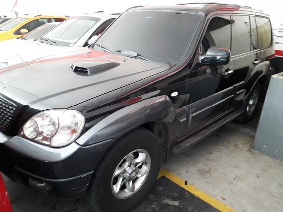 Hyundai Terracan 2.5 Crdi Diesel 4x4 Preto 2006 7 Lugares