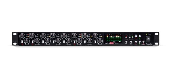 Conversor Adat / Pre Amplificador Scarlett Octopre Dynamic