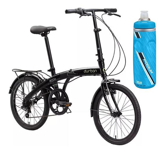 Kit Bicicleta Dobrável Durban Eco Aro 20 6 Marchas E Squeeze