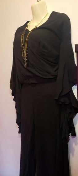 Conjunto Blusa Y Pantalon Negro Marca Hype