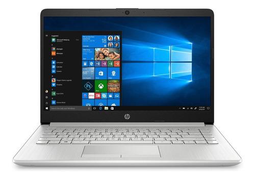 "Laptop HP 14-DK1025WM silver 14"", AMD Ryzen 3 3250U 4GB de RAM 1TB HDD, AMD Radeon Vega 3 1366x768px Windows 10 Home"