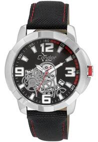Relógio Condor Masculino Co2415bk/8p Com Nf