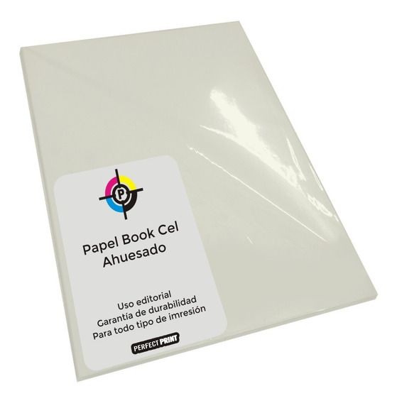 Papel Bookcel Ahuesado A4 X 500 Hojas 80 Grs Liso Book Cel