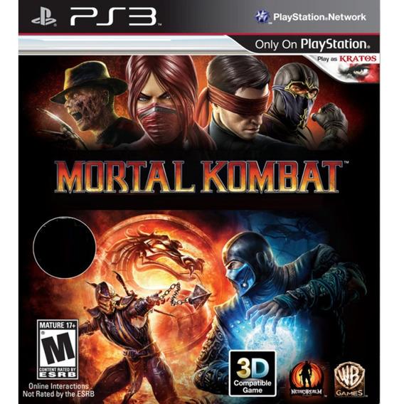 Mortal Kombat Komplete Edition Ps3 Psn Games Play 3 Promoção